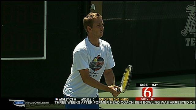 TU Men's Tennis On Its Way To Round Of 16