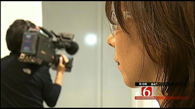 Japanese TV Crew In Oklahoma To Learn More About Storm Shelters