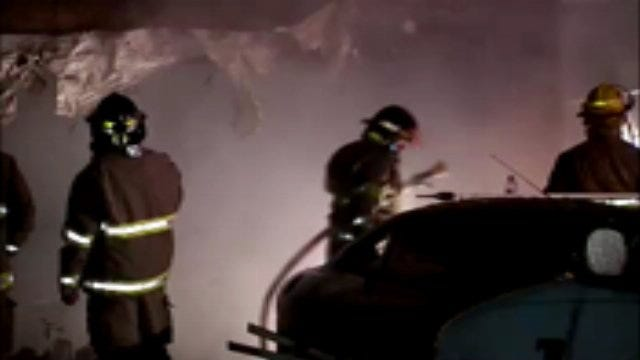 WEB EXTRA: Video From Scene Of Coweta House Fire