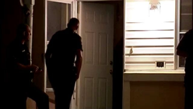 WEB EXTRA: Video From East Tulsa Domestic Related Shooting