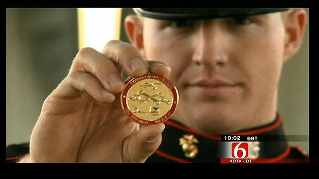 Family Remembers Oklahoma Marine Who Saved Friend From Plane