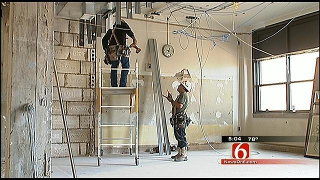 Renovation Work Continues At Future Mayo School In Tulsa