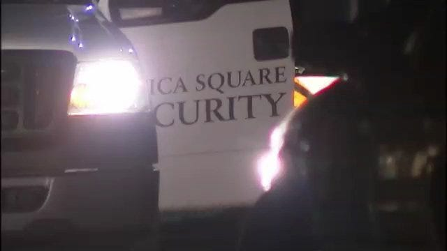 WEB EXTRA: Video From Scene Of Utica Square Robbery Early Monday