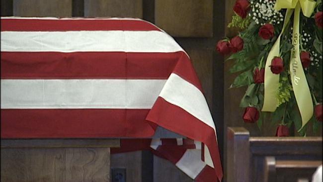 Funeral Held For Elderly Tulsa Attack Victim Bob Strait
