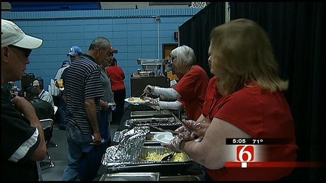 Homeless Veterans Honored At Tulsa 'Stand Down For Vets'