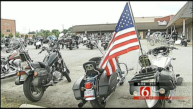Bikers Rally For 'Strait Justice' On Behalf Of Elderly Tulsa Couple Who Was Beaten