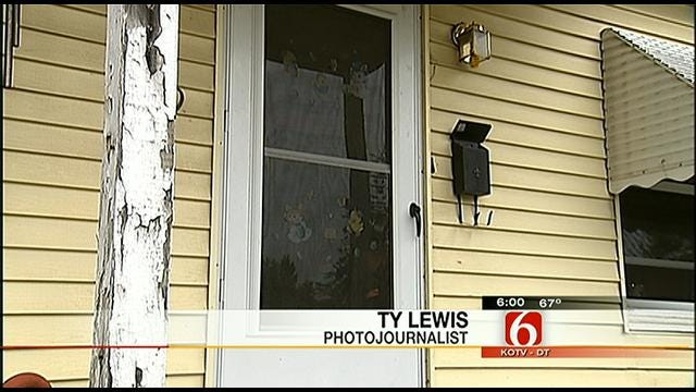 Tulsa Woman Thwarts Men Who Beat Down Her Door
