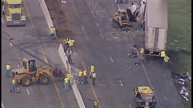 WEB EXTRA: SkyNews6 View Of Will Rogers Wreck