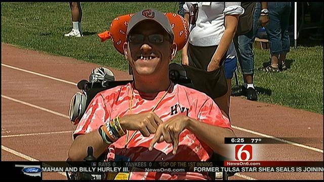 John Holcomb Recaps Special Olympics Day 1