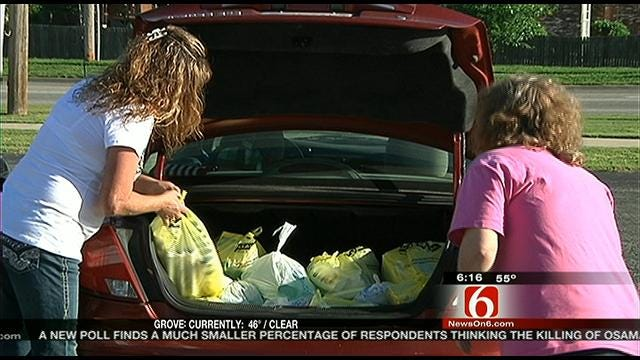 Owasso Woman Uses Couponing To Change Her Community