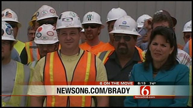 On The Move: Construction Crew Honored
