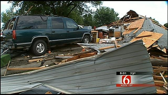 Nowata County Woman Thankful To Be Alive After Tornado Strikes