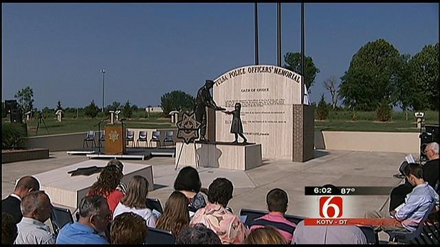 Fallen Tulsa Officers Honored At Memorial