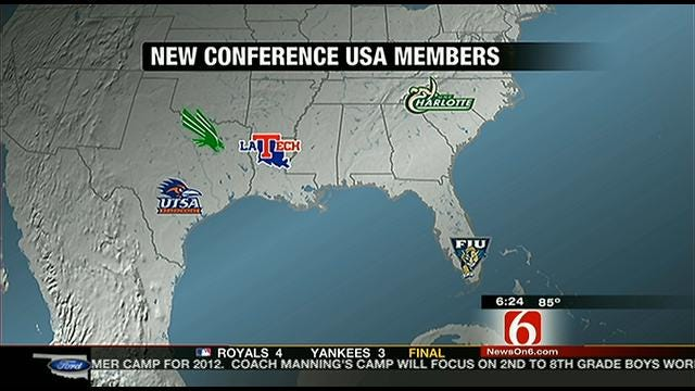 New Conference USA Members Introduced