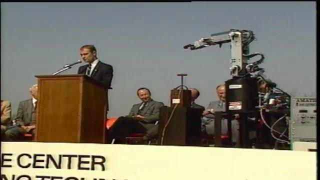 From The KOTV Vault: Robot Spoils 1984 Groundbreaking Ceremony