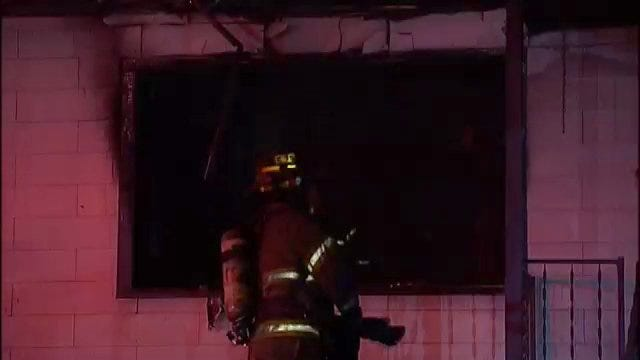 WEB EXTRA: Video From Scene Of Tulsa House Fire Early Friday