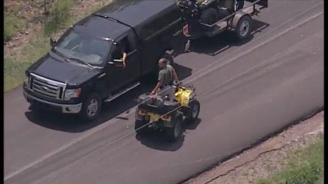 WEB EXTRA: SkyNews6 Over Bixby Missing Boy Search Area