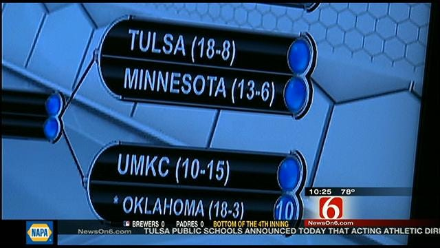 TU Tennis Gets First Round NCAA Pairings