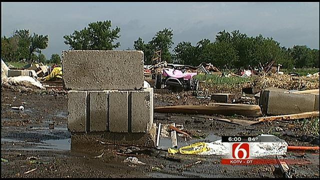 Nowata County Tornado Injures Woman, Damages Homes