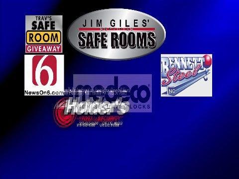 Jim Giles' Safe Rooms: Safe Room Giveaway