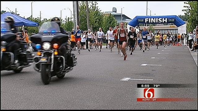 2nd Annual Race Against Racism Held In Downtown Tulsa