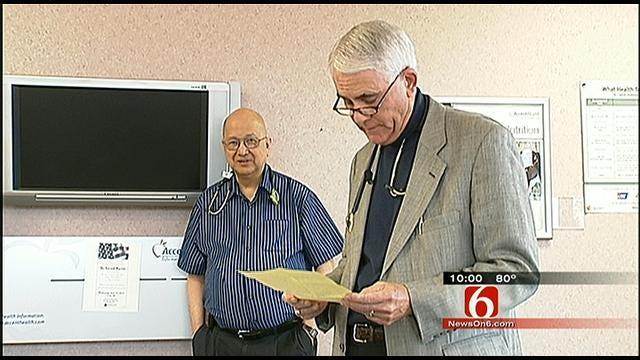 60-Year-Old Muskogee Doctor Returns From Kuwait Deployment