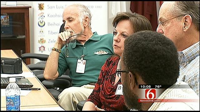 Heated Moments At Tulsa Trash Board Meeting