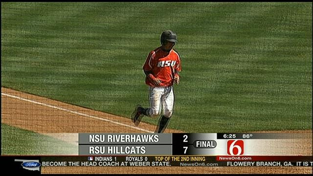 Rogers State Baseball Tops NSU Riverhawks