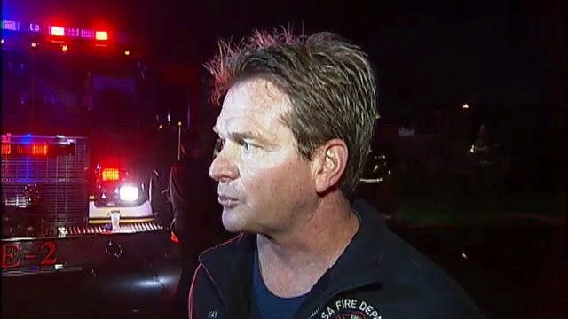 WEB EXTRA: Tulsa Captain Stan May Talks About North Waco House Fire