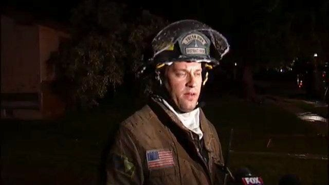 WEB EXTRA: Tulsa Firefighter Jerry Brown Talks About Vacant House Fire