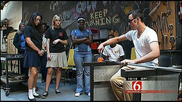 African Students Visit Tulsa
