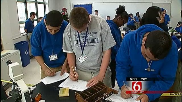 Tulsa High School Students Solve Crime