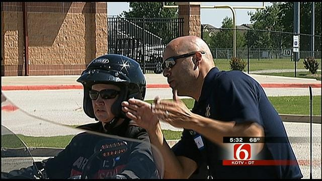 Metro Law Enforcement Holds Motorcycle Safety Class