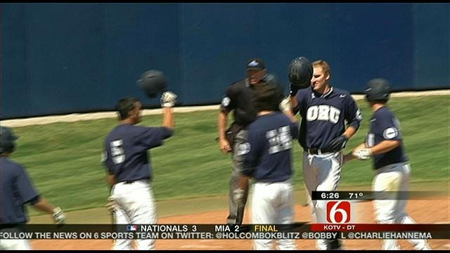 ORU Blanks Leathernecks