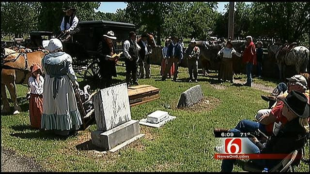 Wagoner Re-enactment Honors One Of Town's Founders