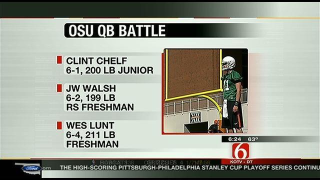 OSU QB Battle Headlines Upcoming Spring Game