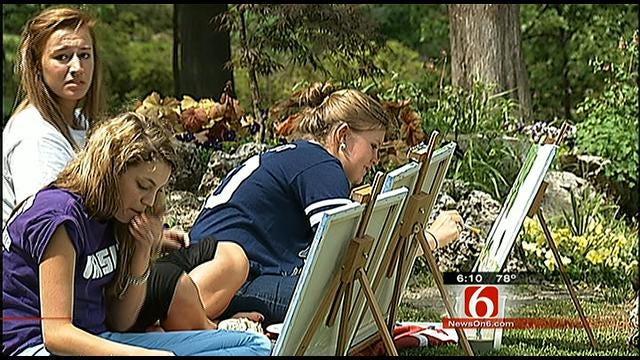Metro Christian Art Students Soak Up Nature At Woodward Park