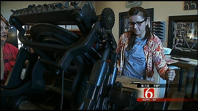 Tulsa Print Shop Goes Old School