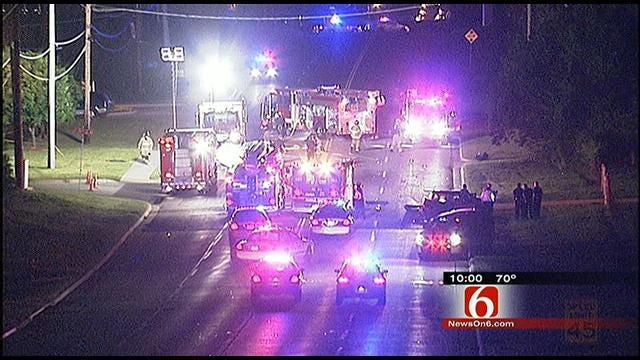 Wrong-Way Driver Kills 1, Injures 2 In Tulsa Crash