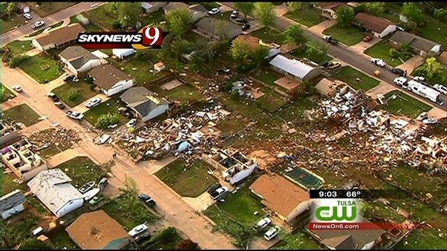Tulsa Area Residents Help Woodward Tornado Victims