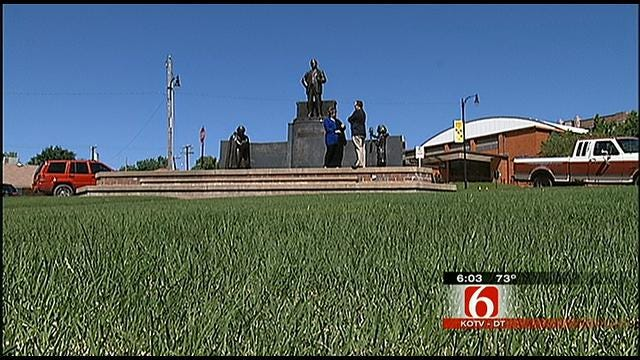Sand Springs Hopes For 21-Story Statue 'The American'
