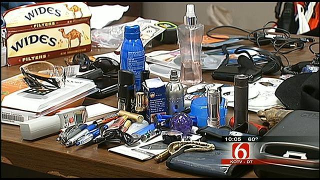 Traffic Stop Leads Tulsa Police To Serial Car Burglary Suspect