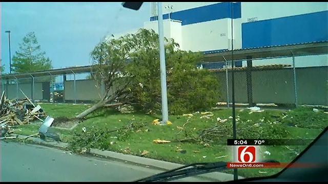 Tulsa Based Spirit AeroSystems Shuts Down Wichita Plant After Storm
