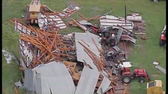 WEB EXTRA: SkyNews6 Surveys Cherokee County Tornado Damage