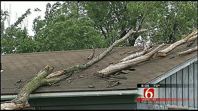 Skiatook Sees Damage From Sunday Tornado