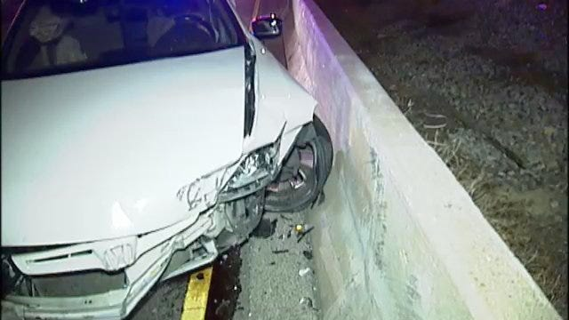 WEB EXTRA: Crashed Car Left On BA Expressway May Have Been Stolen