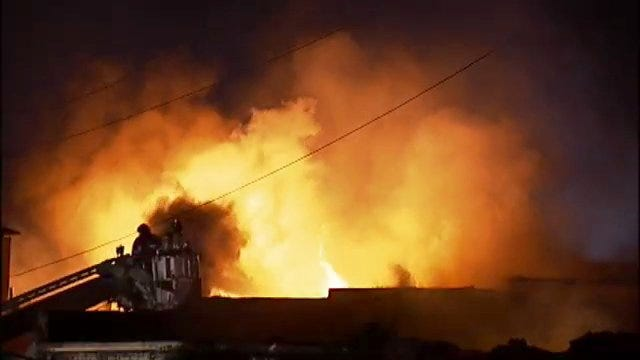 WEB EXTRA: Building In Downtown Sand Springs Burns