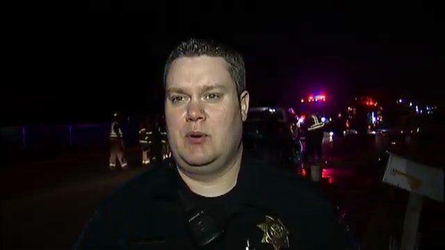 WEB EXTRA: Tulsa Police Sgt. August Terbrock Talks About Head-On Crash