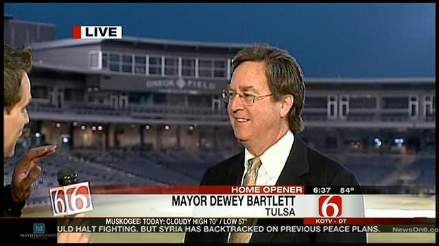 Tulsa Mayor Dewey Bartlett Talks Downtown Development