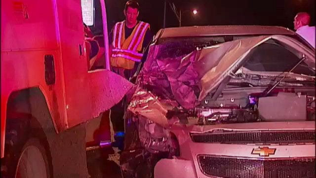 WEB EXTRA: Video From Scene Of 1600 South Peoria Crash